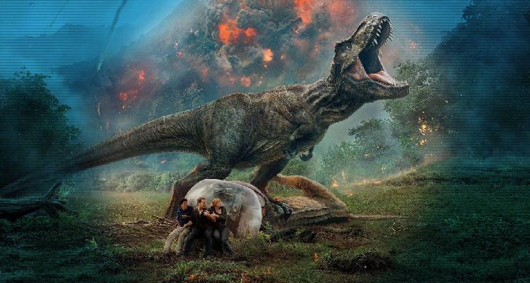 """ديناصورات سبيلبرج بدون طفرات في """"جيراسيك وُرلد: فولين كينجدم"""""""
