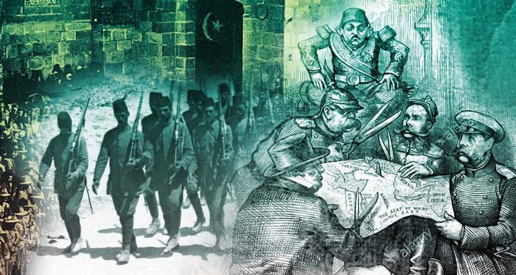 الحرب العالمية الأولى وإنهاء الاحتلال العثماني