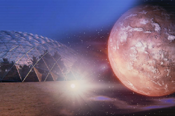 يقع المريخ على الحدود الخارجية للمنطقة الصالحة للسكن في مجموعتنا الشمسية