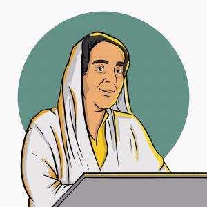 وصفت بنها ركن الشعر العربي والنخلة الباسقة