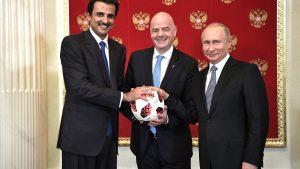 قطر تتسلم راية تنظيم مونديال 2022