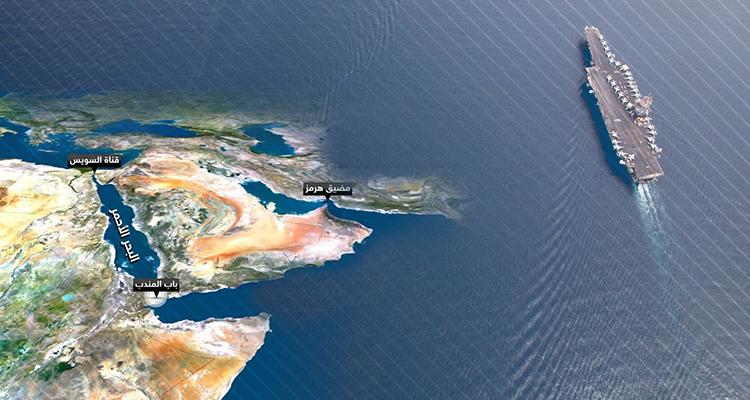 خريطة باب المندب
