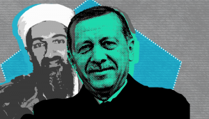 إردوغان وبن لادن.. مواقف متشابهة وإرهاب مقنع