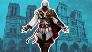 لعبة اساسنز كريد  assassin's creed تساهم في إعادة ترميم كاتدرائية نوتردام