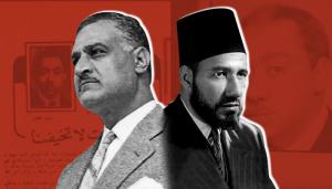 جمال عبد الناصر حسن البنا الإخوان ثورة 23 يوليو 1952 عزيز المصري
