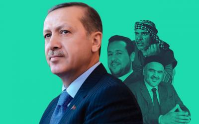إردوغان وإرهابيو ليبيا - عبدالحكيم بلحاج - صادق الغرياني - صلاح بادي