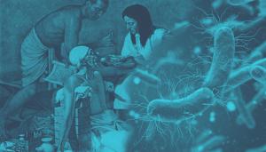 صراع الأمراض والبشر العصر الحجري القديم العصر التكنولوجي الفيروسات