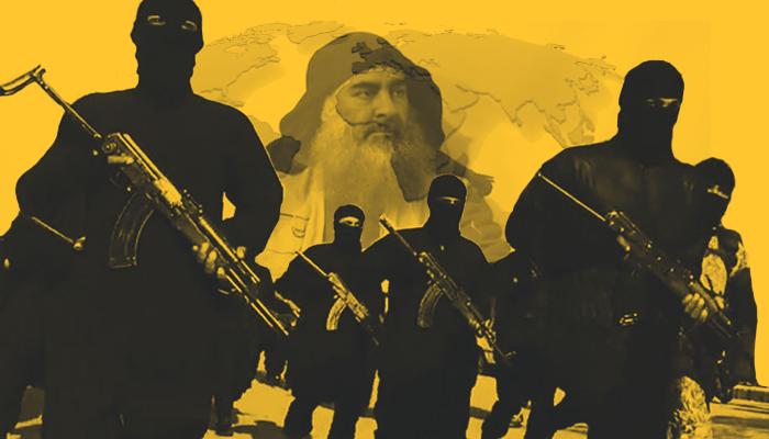 رئيسية خريطة داعش