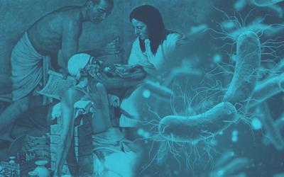 العصر الخجري القديم - العصر الحجري الحديث - العصر التكنولوجي - الفيروسات
