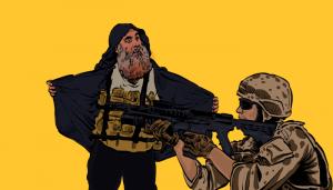 أبو بكر البغدادي - قوات دلتا فورس - أبو الحسن المهاجر - صدام حسين