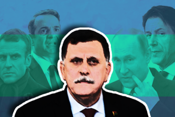 فايز السراج خليفة حفتر ليبيا