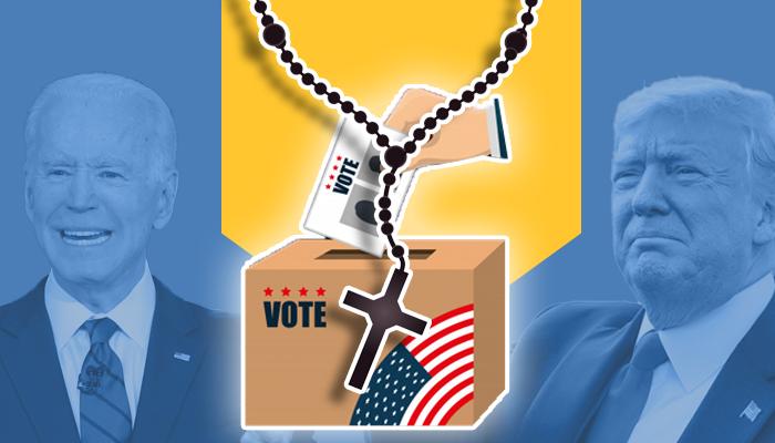 الانتخابات الأمريكية 2020 ترامب جو بايدن أصوات الكاثوليك الولايات المتأرجحة الديمقراط