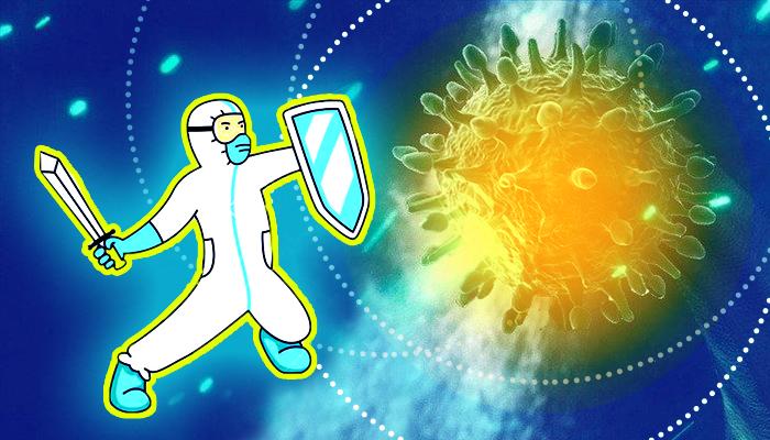 العلم وكورونا - لقاحات - فيروس كورونا المستجد