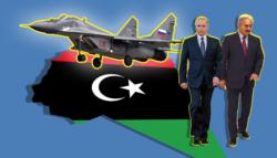 روسيا في ليبيا - الحرب الليبية مقاتلات روسية في ليبيا خليفة حفتر فايز السراج الجيش الوطني الليبي تركيا
