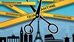 أوروبا استراتيجية الخروج إغلاق كورونا