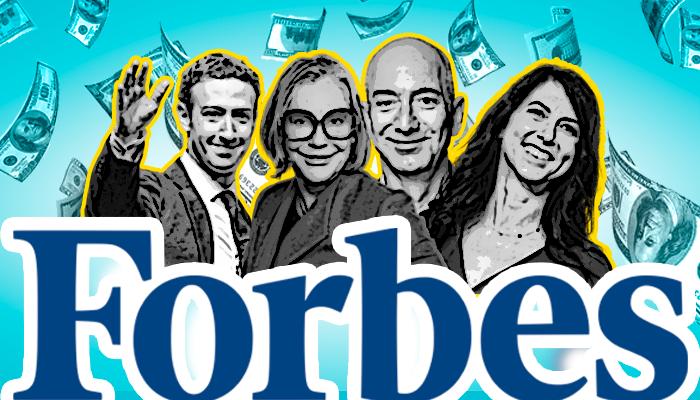 forbes -  مجلة فوربس - جيف بيزوس - أغنى أثرياء العالم - قائمة المليارديرات