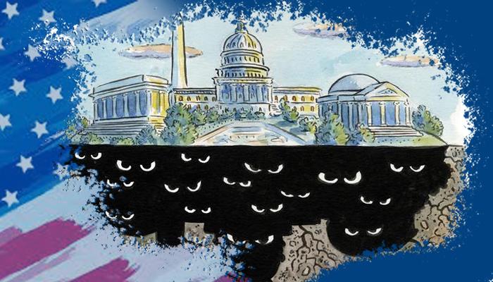 الدولة العميقة - دونالد ترامب - الدولة العميقة وترامب - الانتخابات الأمريكية - دور مراكز الأبحاث في صنع السياسة الأمريكية