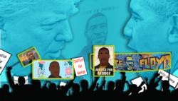 جورج فلويد - ترامب - الديمقراط - الحزب الجمهوري - الانتخابات الأمريكية