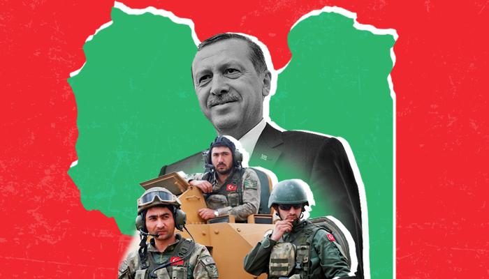 التدخل-التركي-في-ليبيا تركيا في ليبيا فايز السراج خليفة حفتر مصر السعودية