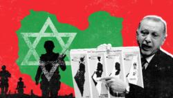 أردوغان وإسرائيل- مصر - ليبيا - الضفة الغربية - فلسطين - مواجهة مصر وتركيا