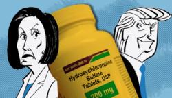 هيدروكسي كلوروكين - دواء الملاريا وكورونا - ترامب والديمقراط - علاج كورونا - منظمة الصحة العالمية