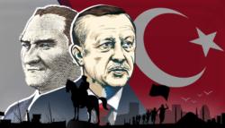 أتاتورك أردوغان - العثمانيون الجدد - رجب طيب أردوغان هتلر