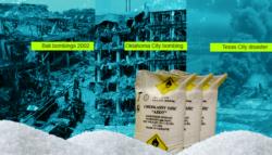 نترات الأمونيوم - انفجار بيروت - ماك فاي - تنظيم القاعدة  - تفجيرات بالي - تيري نيكولز - انفجار ميناء بيروت - انفجار سفينة تكساس