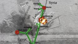 خط الغاز العربي - إظلام سوريا - تركيا - الغاز المصري في سوريا -الربيع العربي - توقف الغاز العربي