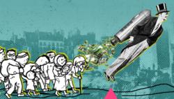 مجتمع العنطزة - العنصرية - تمجيد الطبقة العاملة