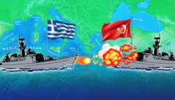 شرق المتوسط - اليونان وتركيا - غاز شرق المتوسط - الفرقاطة كمال ريس