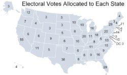 أعضاء المجمع الانتخابي - الكلية الانتخابية في الولايات المتحدة