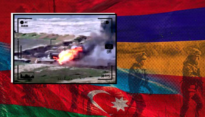 حرب أرمينيا - أذربيجان  - منطقة القوقاز - روسيا وأرمينيا - تركيا وأذربيجان