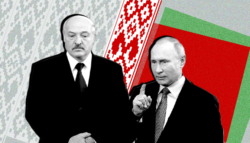 ألكسندر لوكاشينكو -بيلاروسيا - الاتحاد السوفيتي - بوريس يلتسن - بوتين ولوكاشينكو -