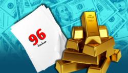 الزاوية البعيدة الدولار الأمريكي ارتباط العملة سعر الذهب