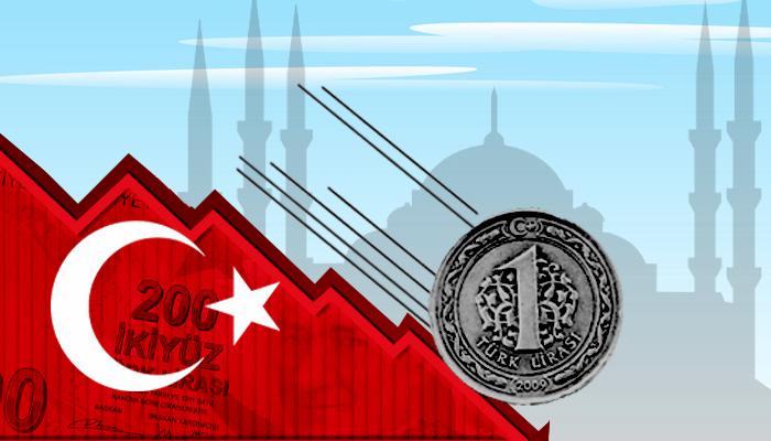 تراجع الاقتصاد التركي - انهيار الليرة التركية - رفع سعر الفائدة في تركيا - تراجع السياحة في تركيا - سياسة أردوغان الاقتصادية