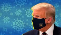 إصابة ترامب بكورونا - حالة ترامب الصحية - ترامب وفيروس كورونا - علاج ترامب من كورونا - البيت الأبيض وكورونا