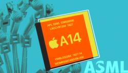 ASML تقنية الـ 5 نانومتر هاتف آبل الجديد آيفون 12 فيزياء الليزر قانون مور أشباه الموصلات