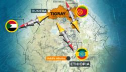 الحرب الأهلية الإثيوبية - تيجراي - حرب تيجراي - تيجراي وإريتريا - تيجراي والسودان