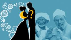 زواج المسلمة من غير المسلم - حكم زواج المسلمة من غير المسلم - الترابي زواج المسلمة من غير المسلم - فتوى زواج المسلمة من غير المسلم