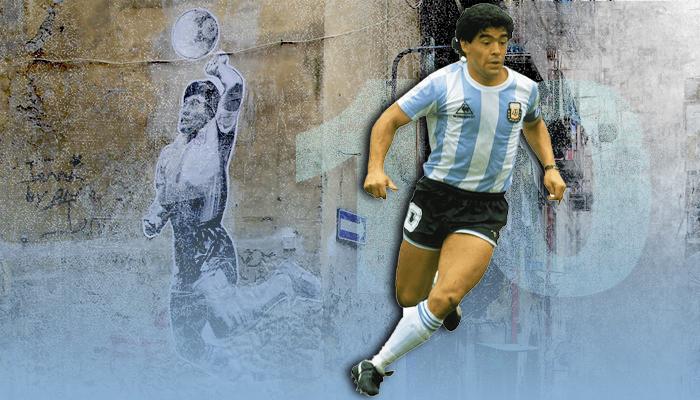 أسطورة مارادونا يد الله مونديال 1968
