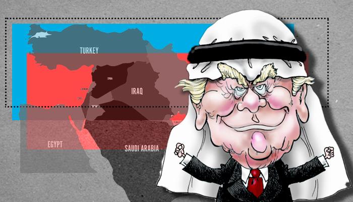دونالد ترامب الشرق الأوسط - بايدن الشرق الأوسط - ترامب إيران - ترامب سلام الخليج إسرائيل - بايدن إيران