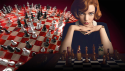 The-Queen's-Gambit مسلسل مناورة الملكة  cast  طاقم مسلسلات نتفليكس