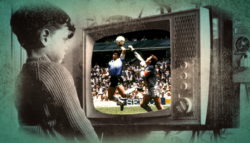 موهبة مارادونا ذكريات مونديال 86