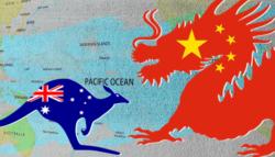 الصين - أستراليا - النفوذ الصيني في أستراليا - حرب تجارية - سكوت موريسون - بكين