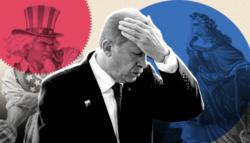 عزلة تركيا - غزو قبرص - تركيا وروسيا - العقوبات الأمريكية على تركيا - تركيا وإيران