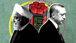 إيران وتركيا - الصراع التركي الإيراني - التحالف التركي الإيراني - العلاقات الإيرانية التركية