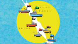 من يتحكم في البحر الأحمر -  مجلس البحر الأحمر وخليج عدن - موانئ البحر الأحمر - النفوذ في البحر الأحمر