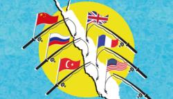 المصالح الدولية المختلفة في البحر الأحمر - الفاعلين الدوليين في البحر الأحمر - من يسيطر على البحر الأحمر