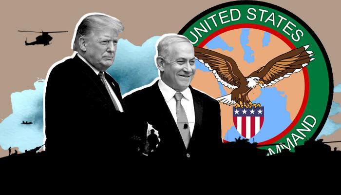 ضم إسرائيل للقيادة المركزية الأمريكية - إسرائيل والقيادة المركزية العسكرية الأمريكية - العرب وإسرائيل - الدول العربية وإسرائيل - القيادة العسكرية الأمريكية