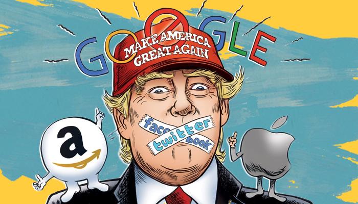 حذف حسابات ترامب - مستقبل تويتر وفيسبوك - تطبيق بارلر - ترامب على تطبيق بارلر - وسائل التواصل البديلة